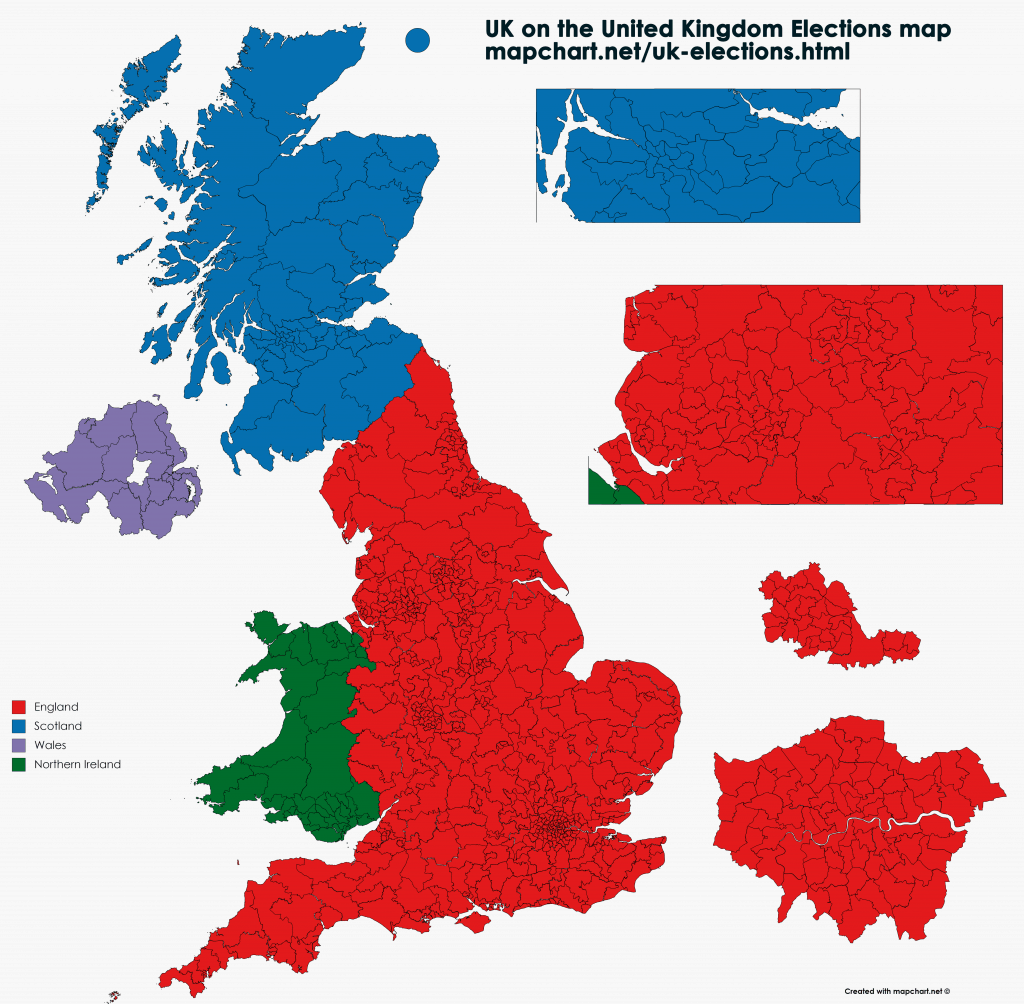 Map Of Uk Parliamentary Constituencies.The New United Kingdom Ireland Maps Blog Mapchart
