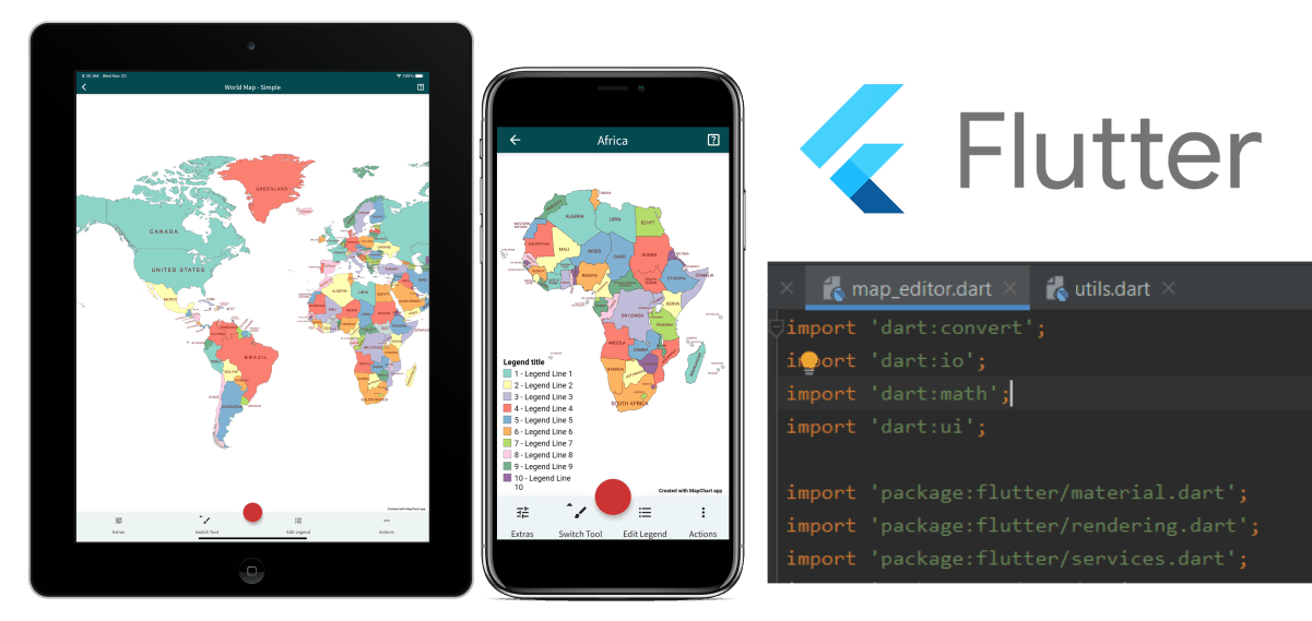 My experience with using Flutter and Dart in developing the MapChart mobile app | Blog - MapChart